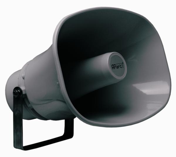 Всепогодныйnbsp; рупорный громкоговоритель для оповещения Вт/ В Громкоговор