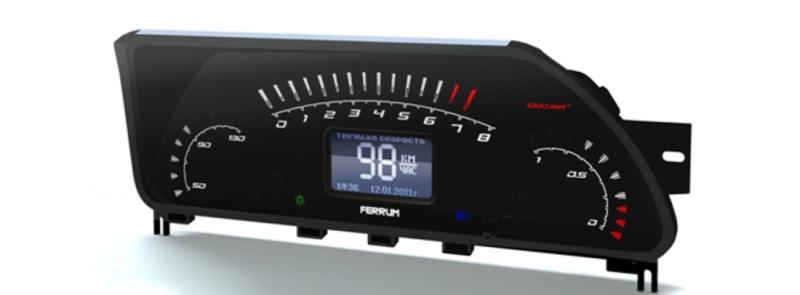 Фото №19 - электронная панель приборов на ВАЗ 2110