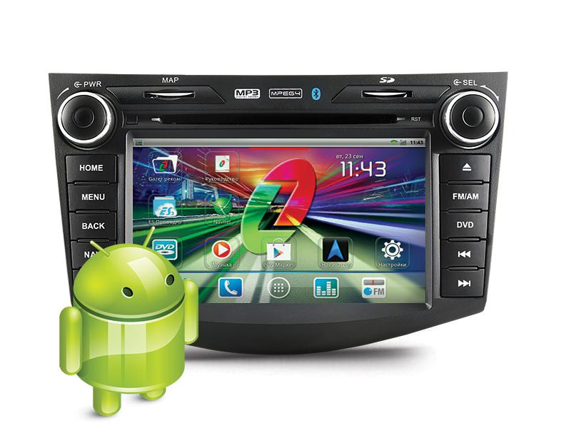 Установить штатное головное устройство на Android